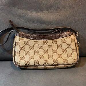 Gucci Small Wristlet Pouchette Pouch Bag
